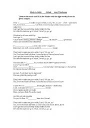English Worksheet: Music Activity - Rehab - Amy Winehouse