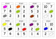 Bingo numbers and colours