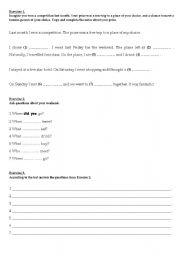 English worksheet: Past Simple - elementary
