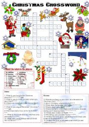 Christmas crossword (05.12.2008)