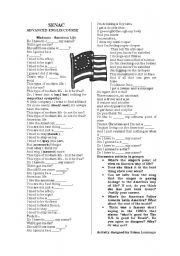 English Worksheets: american life by madonna