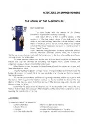 English Worksheet: Graded Readers The hound of the Baskervilles