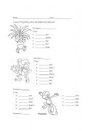 Teaching resources > Kids worksheets > Pokemon