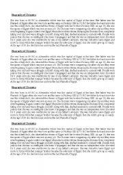 English Worksheets: bigraphies