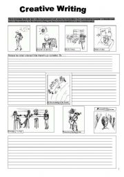 creative writing esl worksheet by be43376. Black Bedroom Furniture Sets. Home Design Ideas
