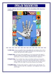 English Worksheets: Palm reading