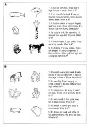 English Worksheets: Who�s who?