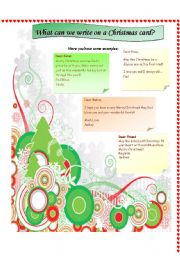 Christmas Cards: what to write on them