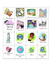 English Worksheet: wants and needs game part 2