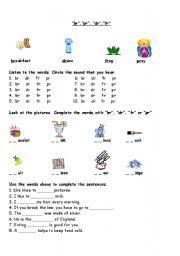 English Worksheets: Phonics worksheet-
