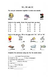 English Worksheet: Phonics worksheet-