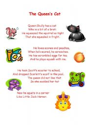 English Worksheets: The Queen�s Cat