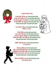 Little drummer boy by whitney houston lyrics tune file drumrboy little