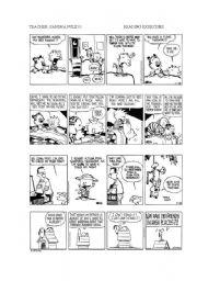 English Worksheets: COMICS