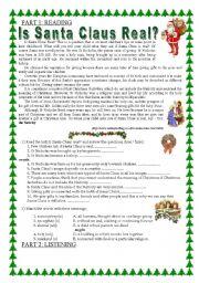 Christmas - all 4 skills! - ESL worksheet by marzenka