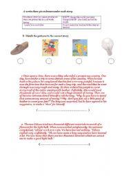 English Worksheets: moral stoies