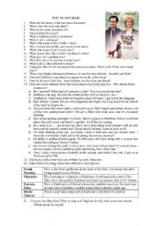 a worksheet on the film You´ve Got Mail