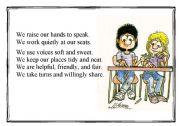 English Worksheets: School poem