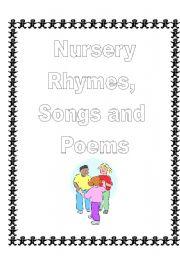 English Worksheet: Nursery Rhymes, Songs and Poems 1/4