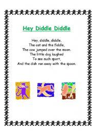 English Worksheet: Nursery Rhymes, Songs and Poems 2/4