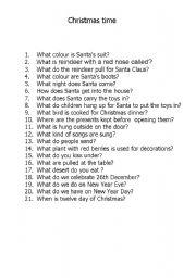 Holidays and traditions christmas christmas quiz christmas time quiz