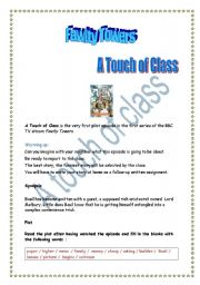Fawlty Towers (A touch of Class) Project (+ answers)