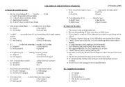 English Worksheets: Subjunctive Mood