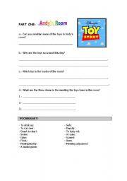 English Worksheet: Toy Story