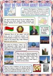 What do you know about belarus