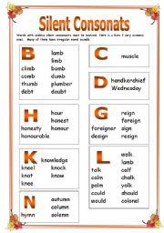 Silent consonants Part 1
