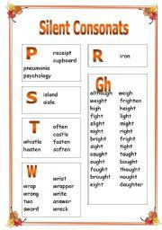 Silent Consonants PART 2