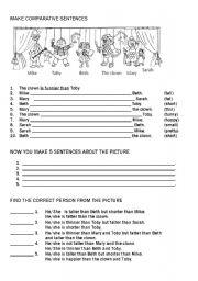 english grammar comparative and superlative exercises pdf