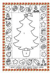 English worksheets Christmas worksheets page 113