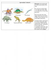 English Worksheets: Spectacular Creatures!!!