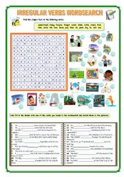 English Worksheets: IRREGULAR VERBS