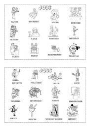 Jobs mini-dictionary (B&W) 2/2