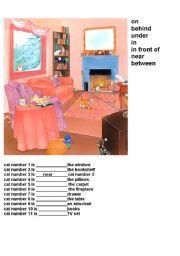 prepositions (fil in gaps)