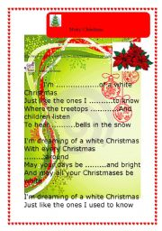 White christmas Shaina Twain