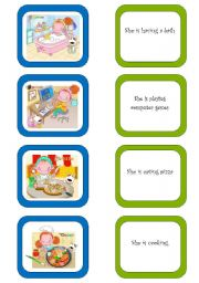 English Worksheet: Memory card game (4/5)