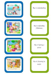 English Worksheets: Memory card game (5/5)