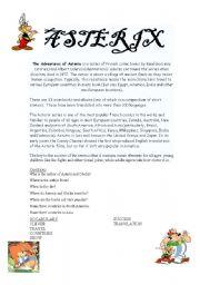 English Worksheets: Asterix