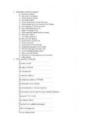 English Worksheets: negatives