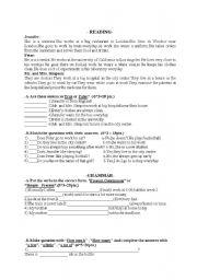 English Worksheets: mixed exercises 2