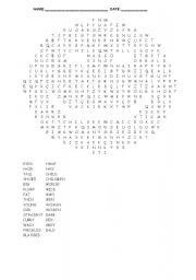 Smile word search  - Describing people