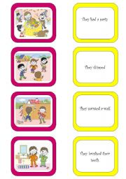 English Worksheets: Memory card game (2/6)