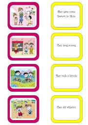 English Worksheet: Memory card game (3/6)