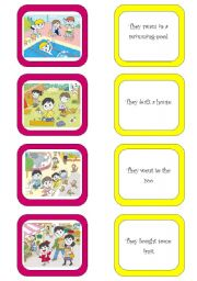 English Worksheets: Memory card game (4/6)