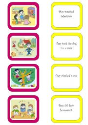 English Worksheet: Memory card game (5/6)