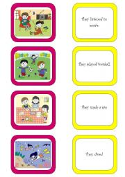 English Worksheets: Memory card game (6/6)