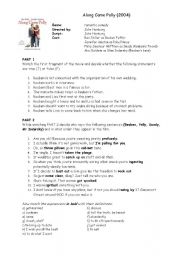 Along Came Polly video worksheet